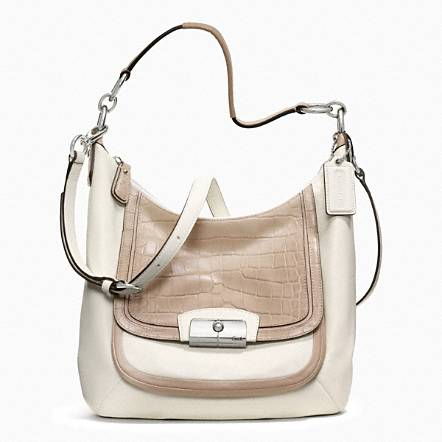 Coach Leather Hobo
